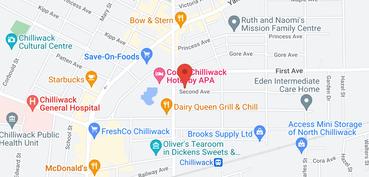 map of 303 46021 SECOND AVENUE