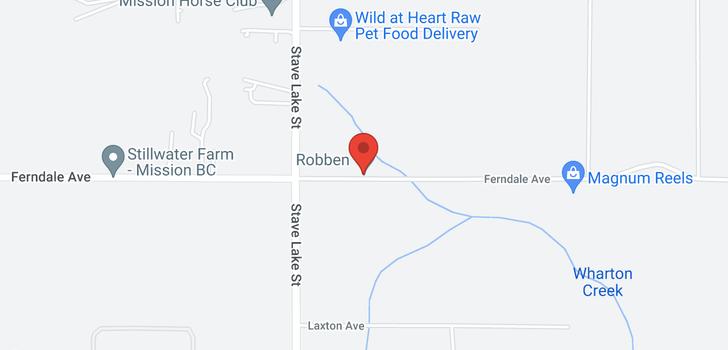 map of 34171 FERNDALE AVENUE