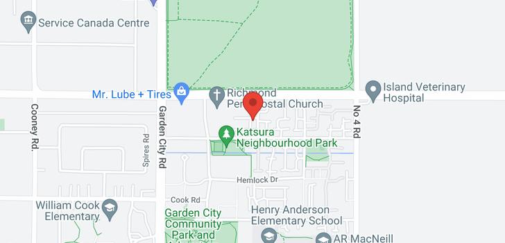 map of 19 6099 ALDER STREET