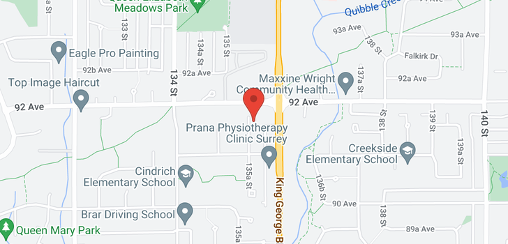 map of 9144 135A STREET