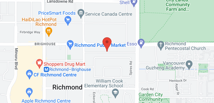 map of 603 6119 COONEY ROAD