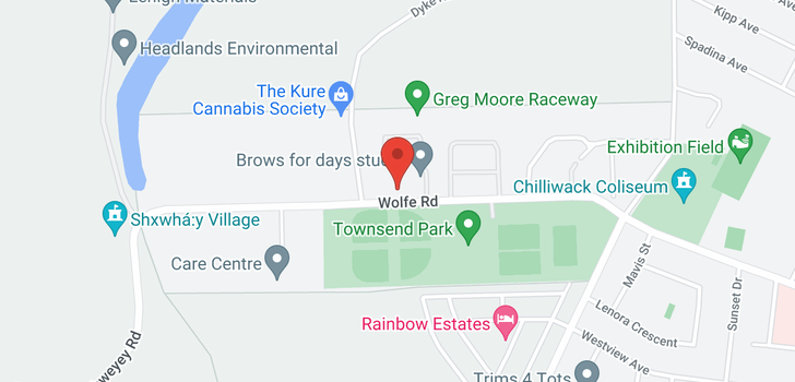 map of 11 45025 WOLFE ROAD