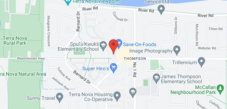 map of 144 3880 WESTMINSTER HIGHWAY