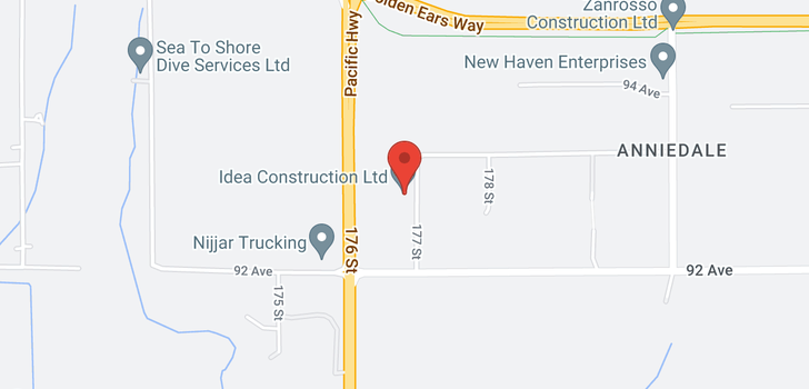 map of 9303 177 STREET