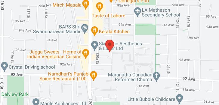 map of 109 9299 121 STREET