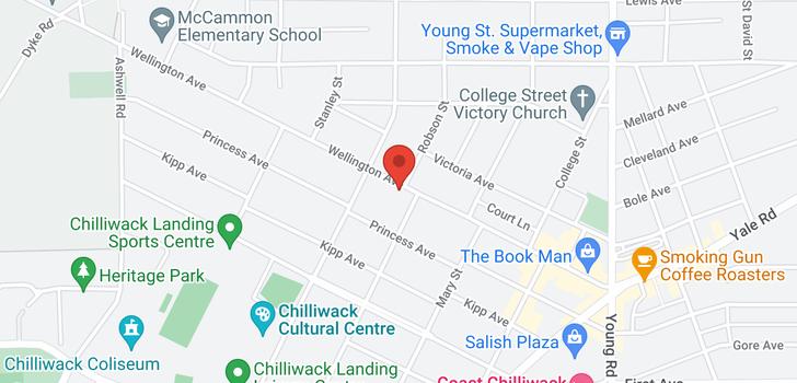 map of 112 45700 WELLINGTON AVENUE