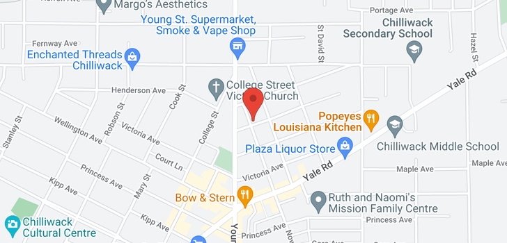 map of 46031 CLEVELAND AVENUE