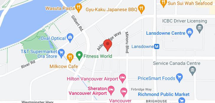 map of 903 7688 ALDERBRIDGE WAY