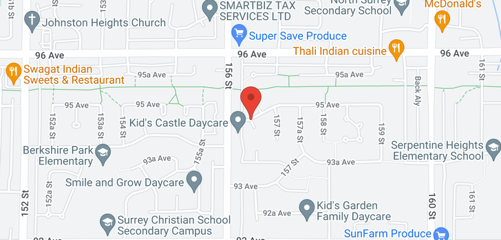 map of 9687 156A STREET