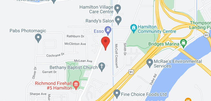 map of 52 22788 WESTMINSTER HIGHWAY