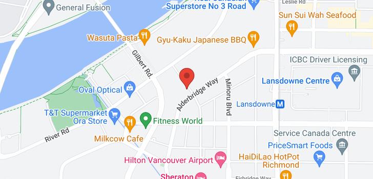 map of 710 5311 CEDARBRIDGE WAY
