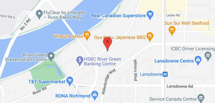 map of 712 7008 RIVER PARKWAY