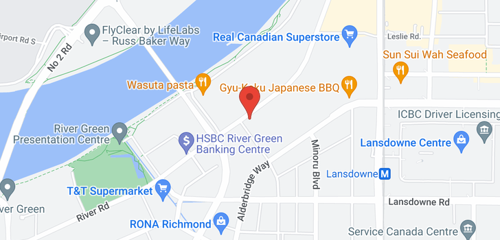 map of 306 7008 RIVER PARKWAY