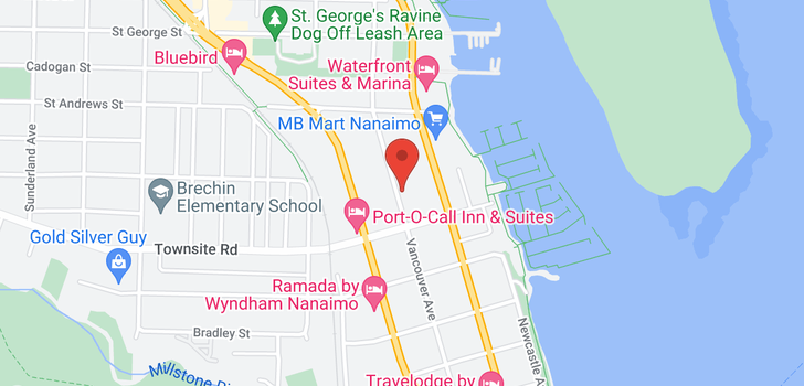 map of 522 VANCOUVER AVE
