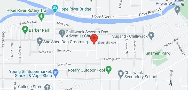 map of 9769 WILLIAMS STREET