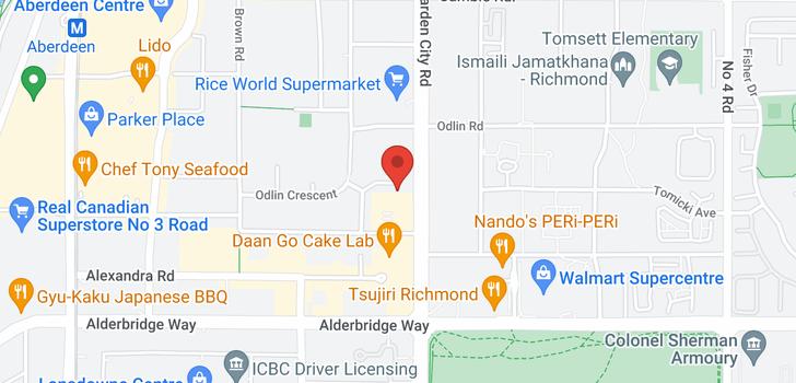map of 4380 SORENSON CRESCENT