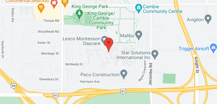 map of 90 12500 MCNEELY DRIVE