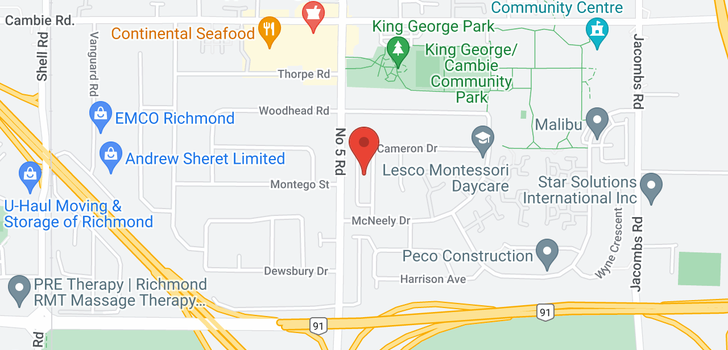 map of 12171 CAMERON DRIVE