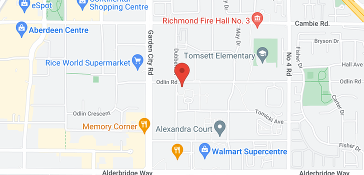 map of 227 9288 ODLIN ROAD