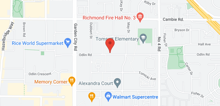 map of 440 9399 ODLIN ROAD