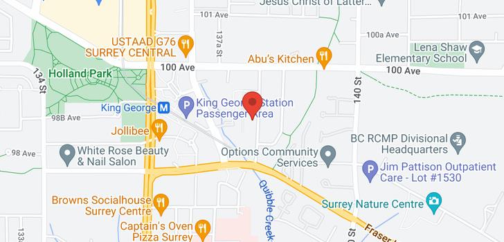 map of 9893 138 STREET