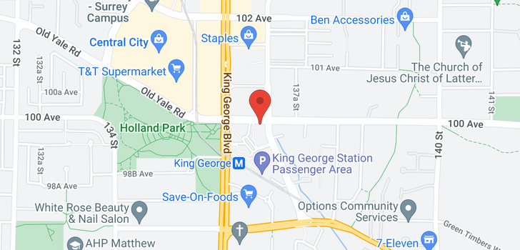 map of 1802 13688 100 AVENUE