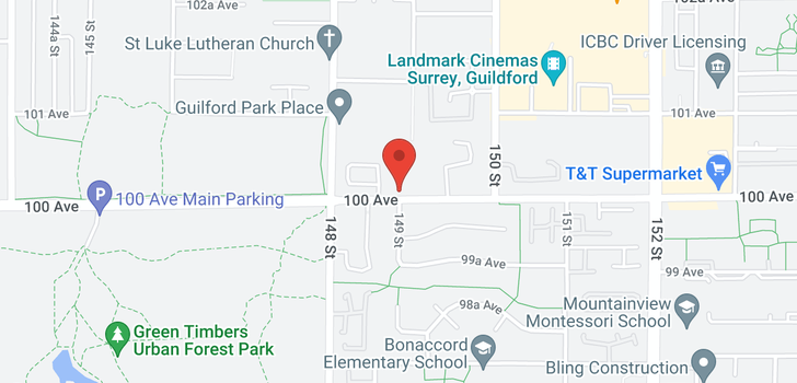 map of 302 14885 100TH AVENUE