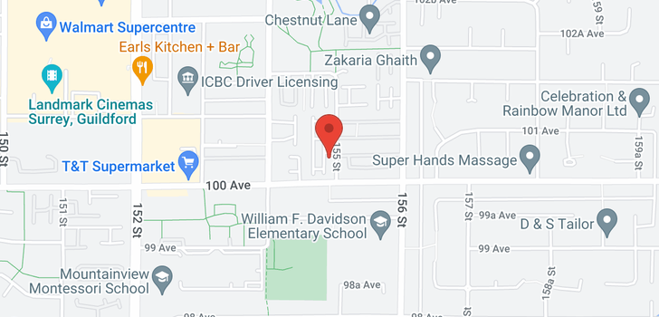 map of 36 10051 155 STREET