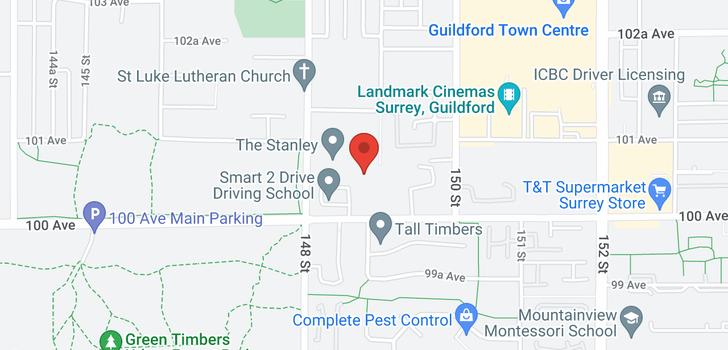 map of 213 10088 148 STREET