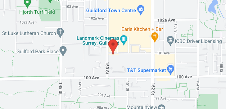 map of 702 15030 101 AVENUE
