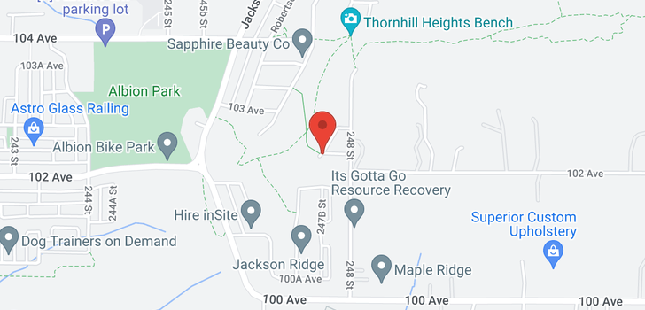 map of 24771 102A AVENUE