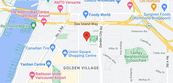 map of 709 8677 CAPSTAN WAY