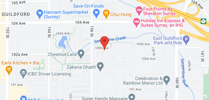 map of 10246 156A STREET