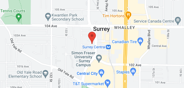 map of 3401 13438 CENTRAL AVENUE