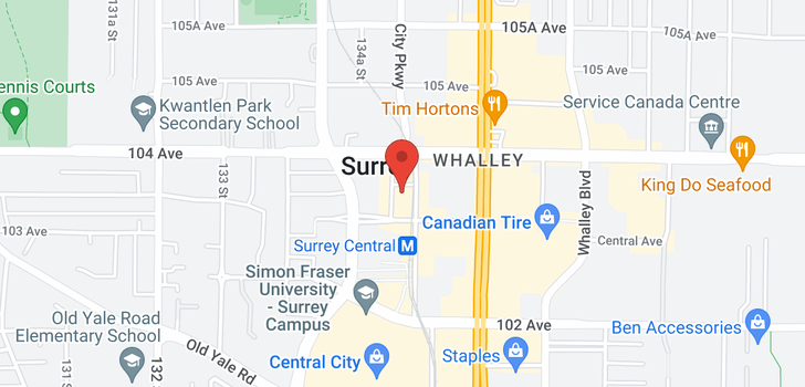 map of 4206 13495 CENTRAL AVENUE