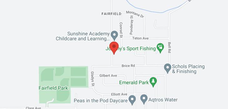 map of 10470 MCDONALD ROAD