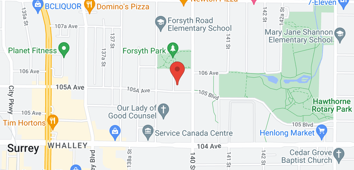 map of 620 13963 105A AVENUE