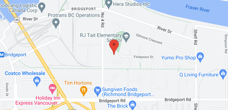 map of 10180 FINLAYSON DRIVE