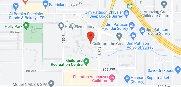 map of 109 10644 151A STREET