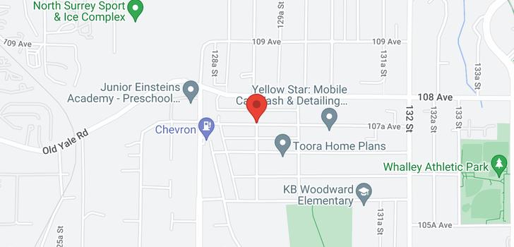 map of 10741 129 STREET