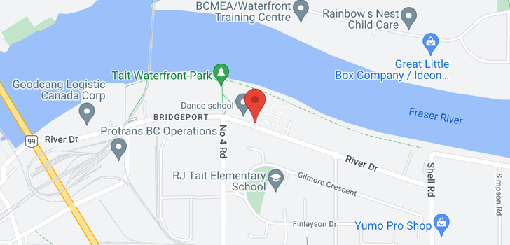 map of 16 10119 RIVER DRIVE