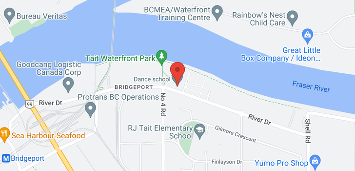 map of 315 10011 RIVER DRIVE