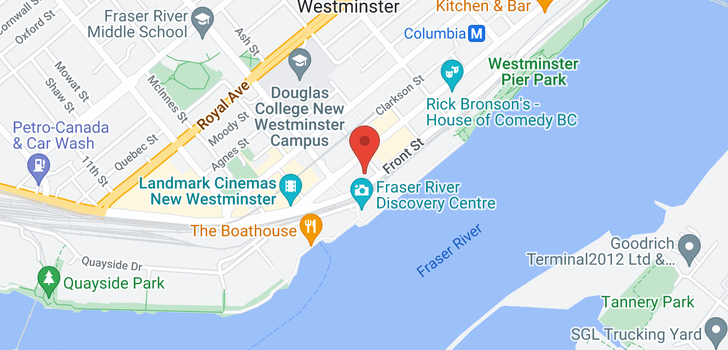 map of 1102 14 BEGBIE STREET