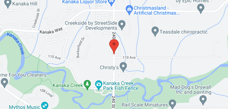 map of 9 24021 110 AVENUE