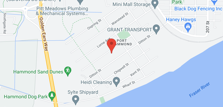 map of 20198 HAMPTON STREET