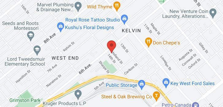 map of 531 FOURTEENTH STREET