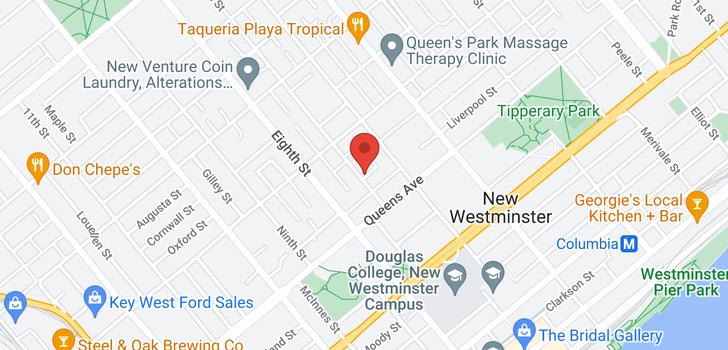 map of 7 221 ASH STREET