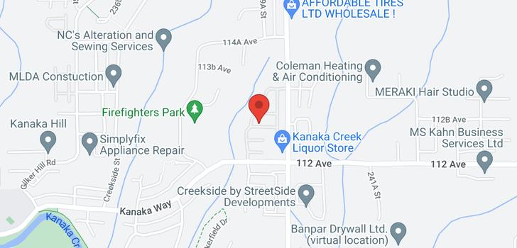 map of 18 11305 240 STREET
