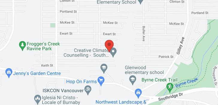 map of 5655 PATRICK STREET