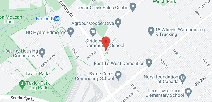 map of 202 7088 14TH AVENUE